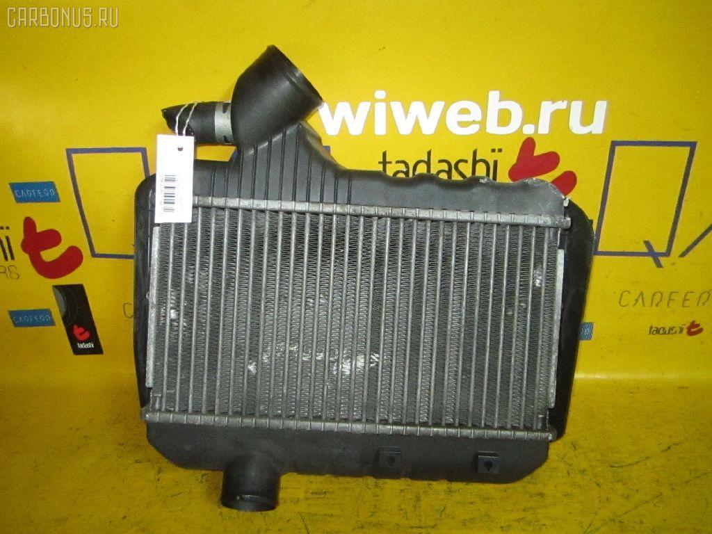 Радиатор интеркулера TOYOTA CALDINA ST215W 3S-GTE. Фото 1