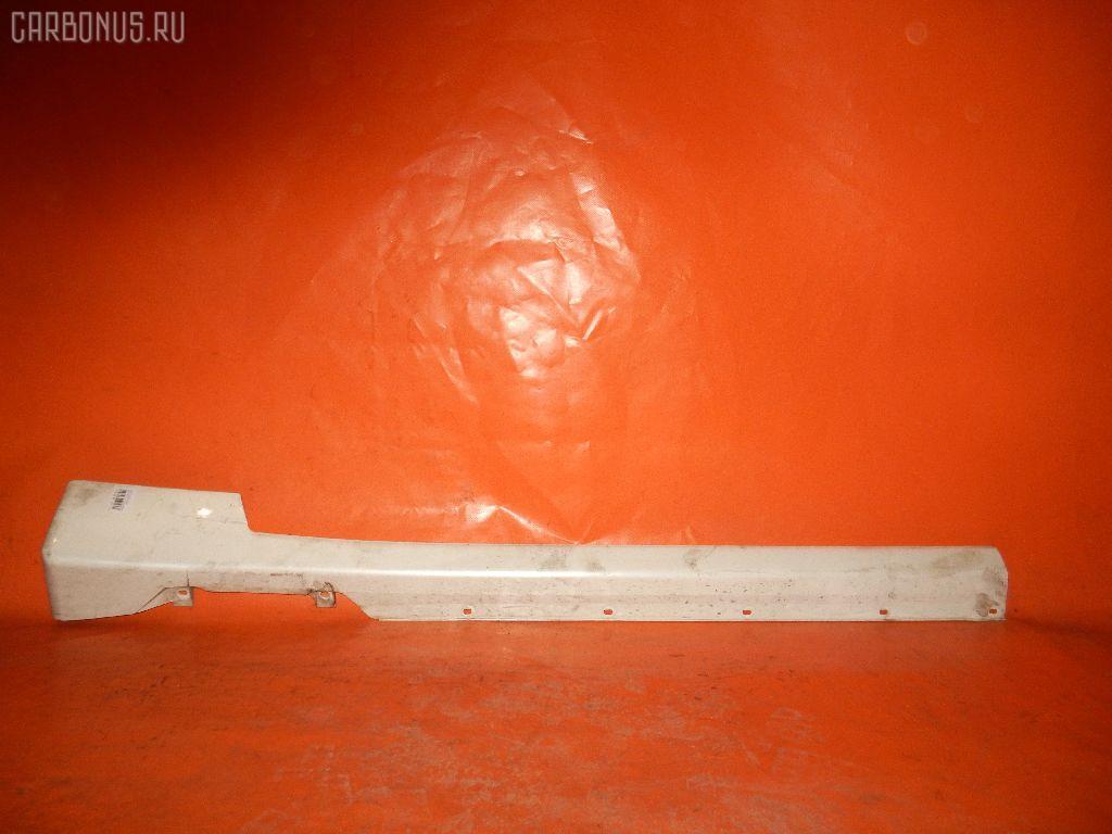 Порог кузова пластиковый ( обвес ) NISSAN CIMA FHY33 Фото 3