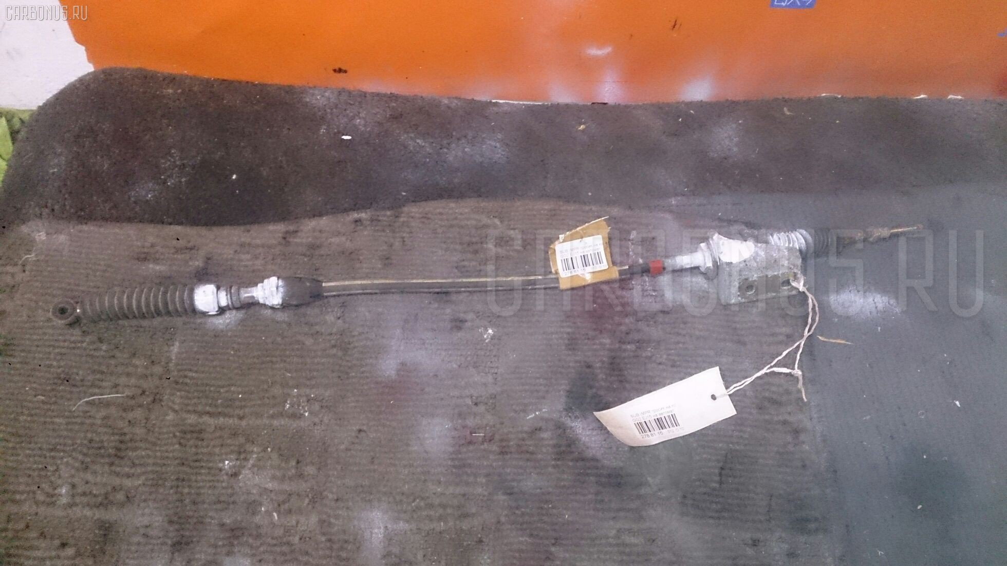 Тросик на коробку передач SUBARU IMPREZA WAGON GG2 EJ15 Фото 1