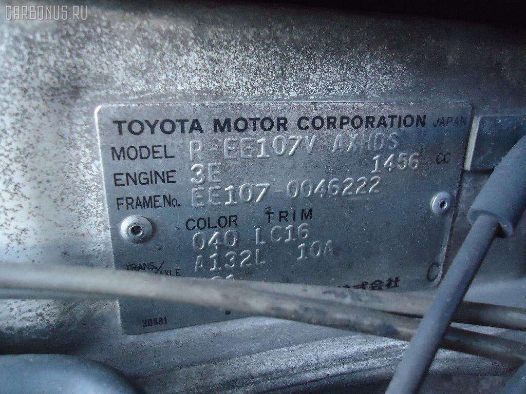 Консоль магнитофона TOYOTA COROLLA WAGON EE107V Фото 2
