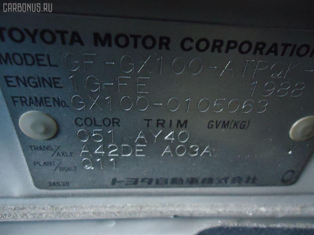 Ручка двери TOYOTA MARK II GX100 Фото 2