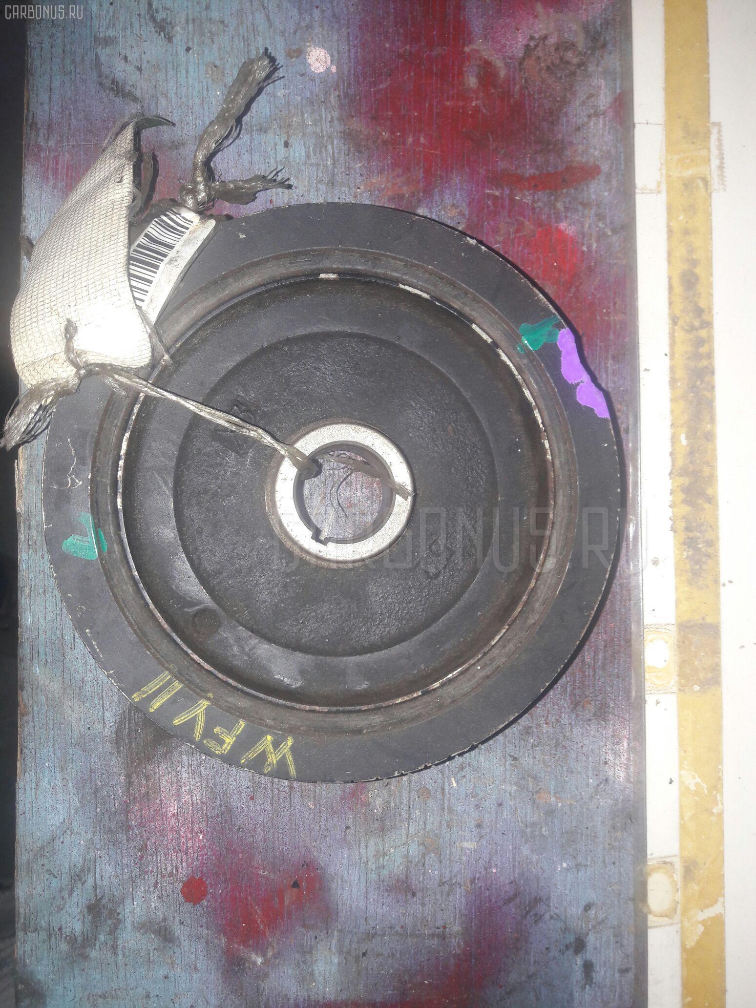 Шкив NISSAN SUNNY FNB15 QG15DE. Фото 3