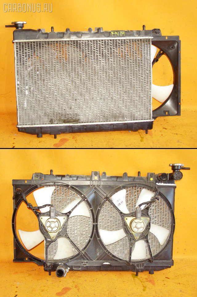 Радиатор ДВС NISSAN PULSAR FN14 GA15DS. Фото 4