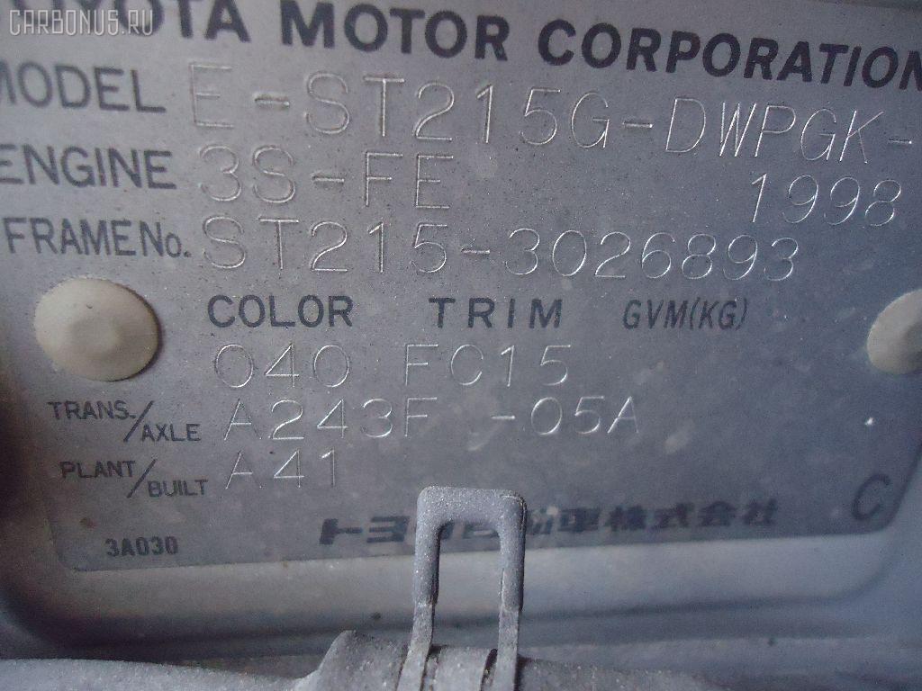 Дверь боковая TOYOTA CALDINA ST215 Фото 3