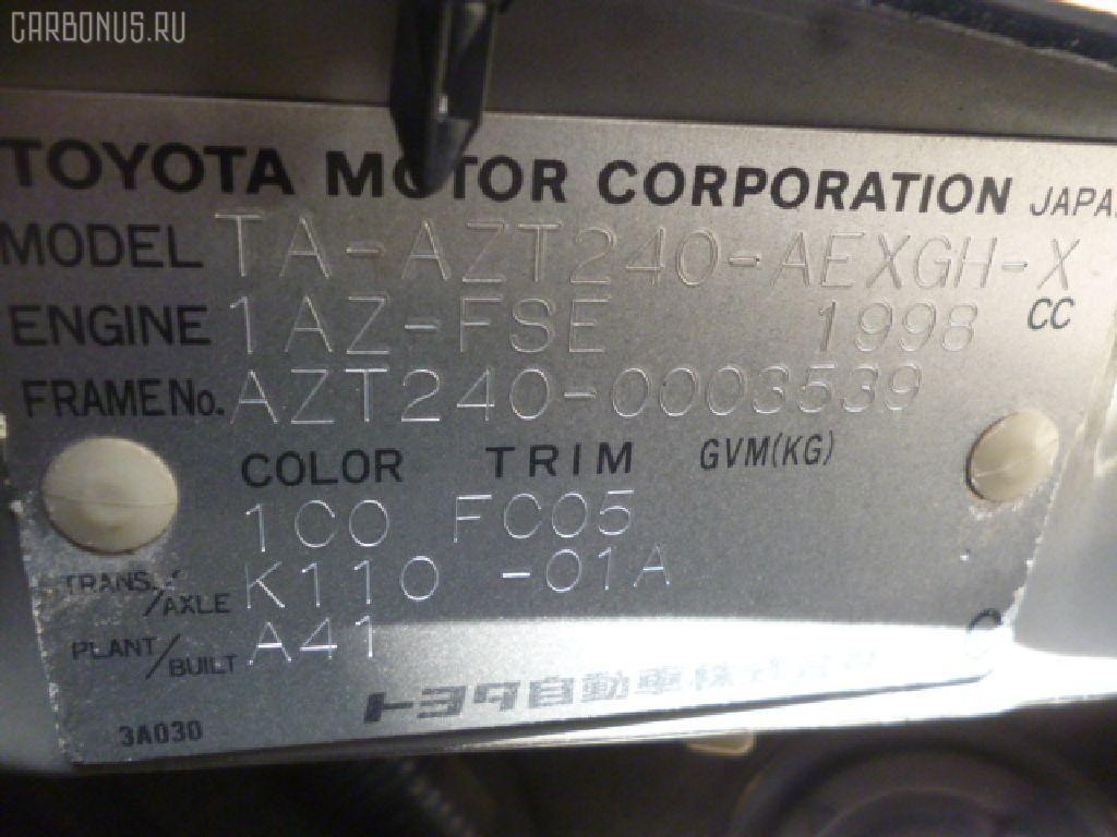 Дефлектор TOYOTA PREMIO AZT240 Фото 7