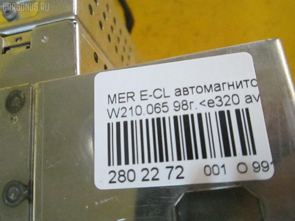 Автомагнитофон MERCEDES-BENZ E-CLASS W210.065 Фото 8
