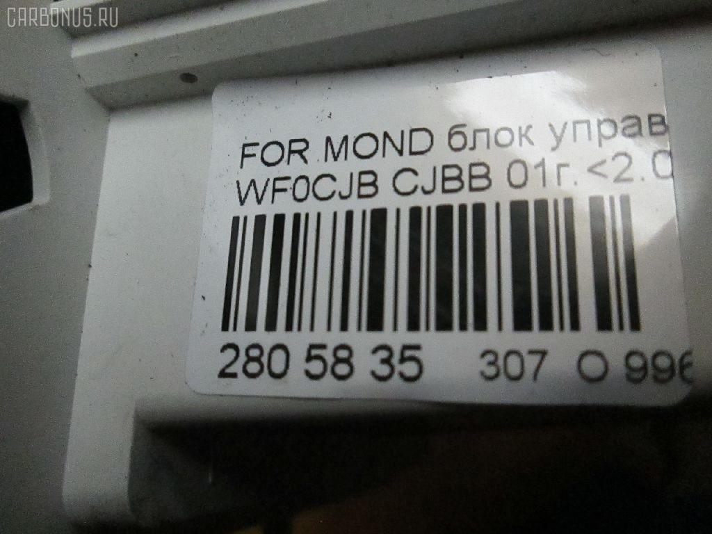 Блок управления климатконтроля FORD MONDEO III WF0CJB CJBB Фото 8