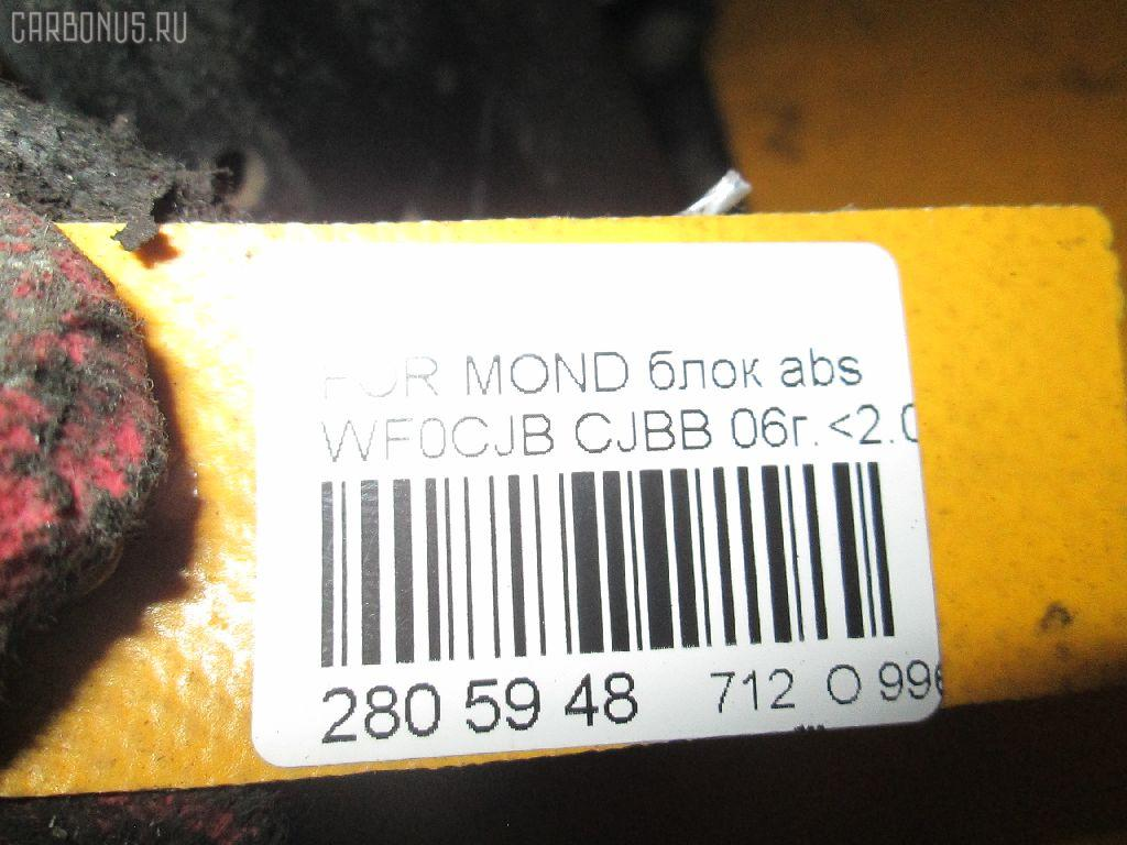 Блок ABS FORD MONDEO III WF0CJB CJBB Фото 8
