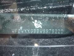 Дверь боковая Ford Mondeo iii WF0CJB Фото 3