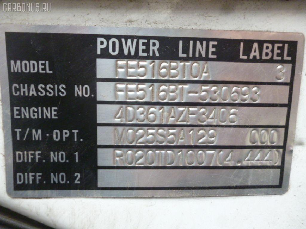 Радиатор кондиционера MITSUBISHI CANTER FE51CBT 4D33 Фото 3