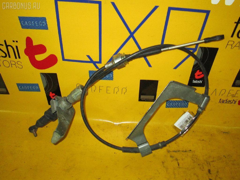 Тросик на коробку передач NISSAN BLUEBIRD SYLPHY KG11 MR20DE Фото 1