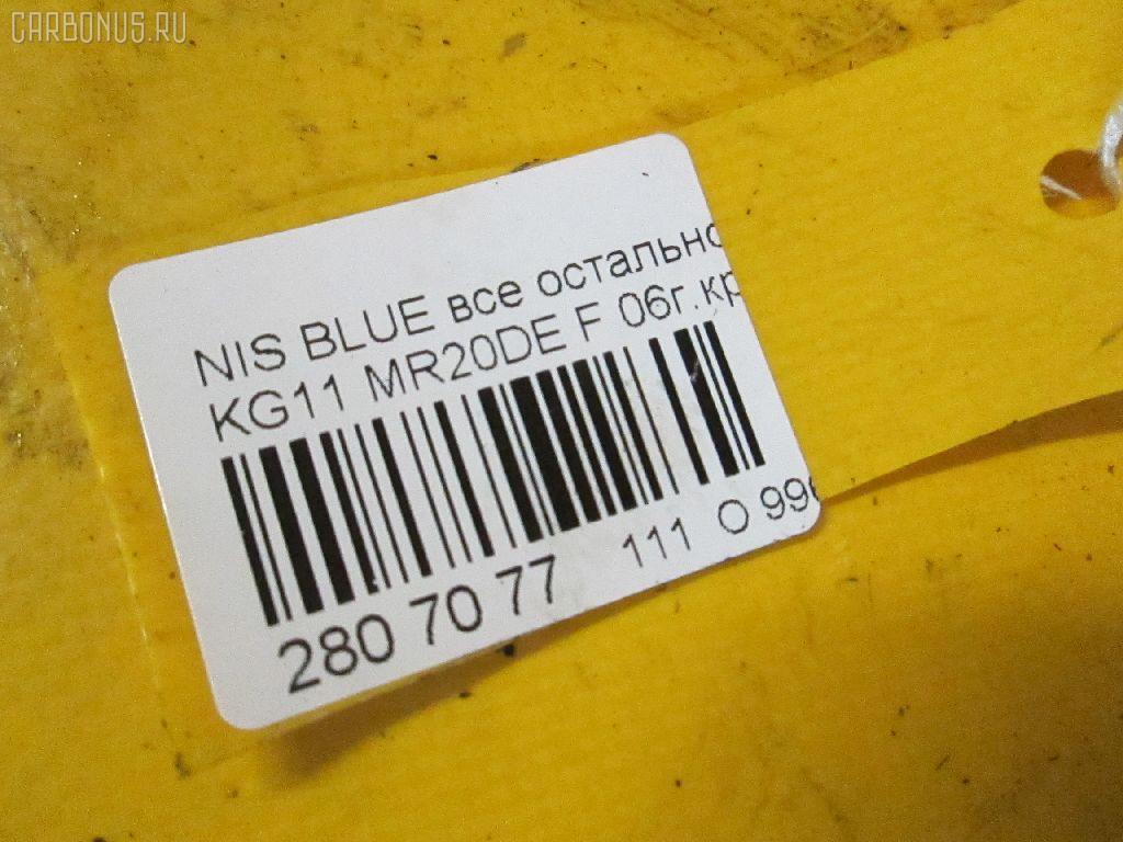Блок EFI NISSAN BLUEBIRD SYLPHY KG11 MR20DE Фото 7