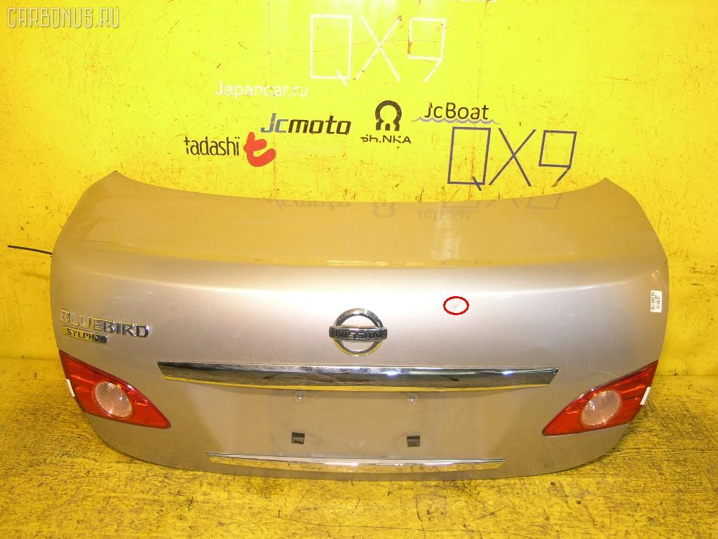 Крышка багажника Nissan Bluebird sylphy KG11 Фото 1