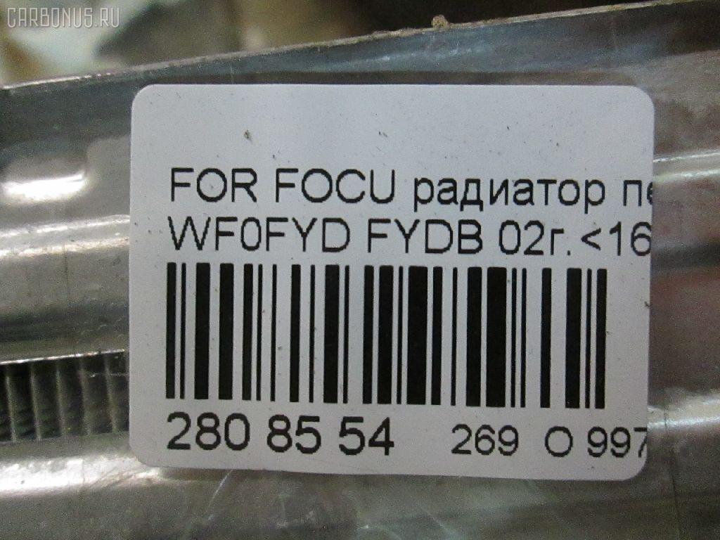 Радиатор печки FORD FOCUS WF0FYD FYDB Фото 11