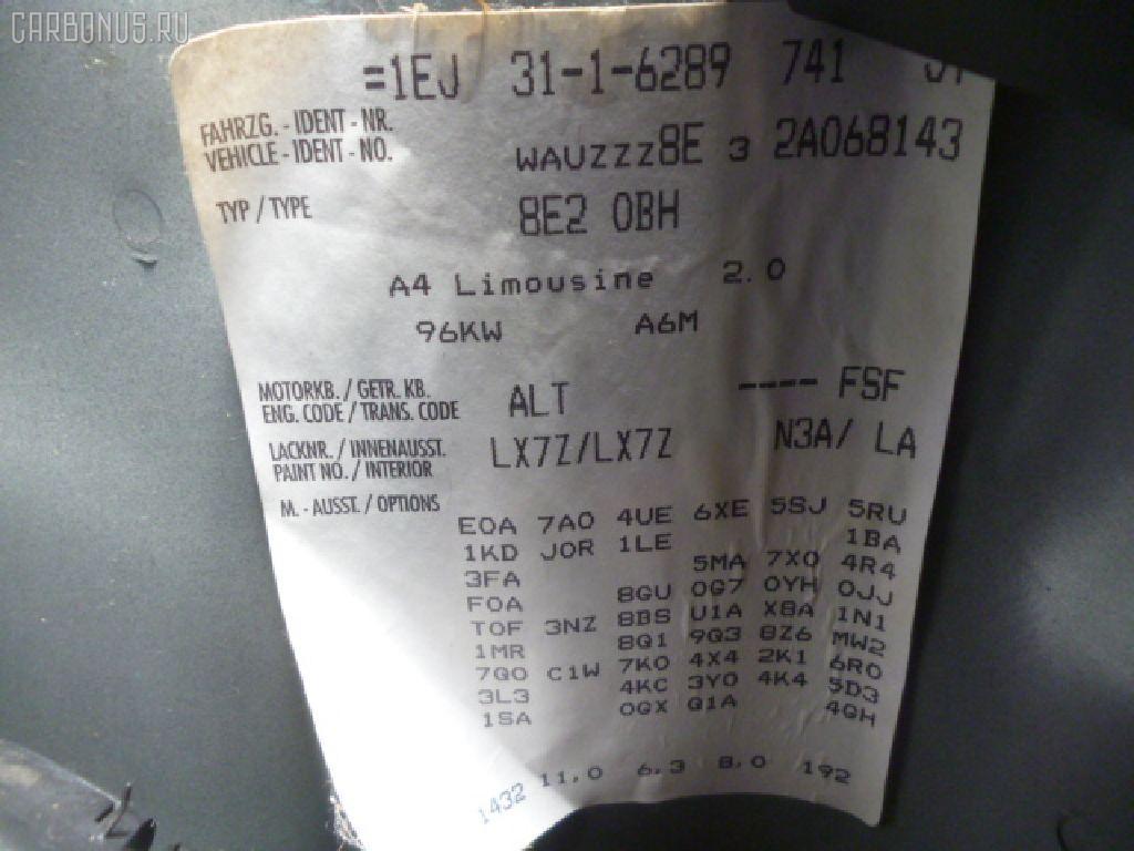 Лямбда-зонд AUDI A4 8EALT ALT Фото 3