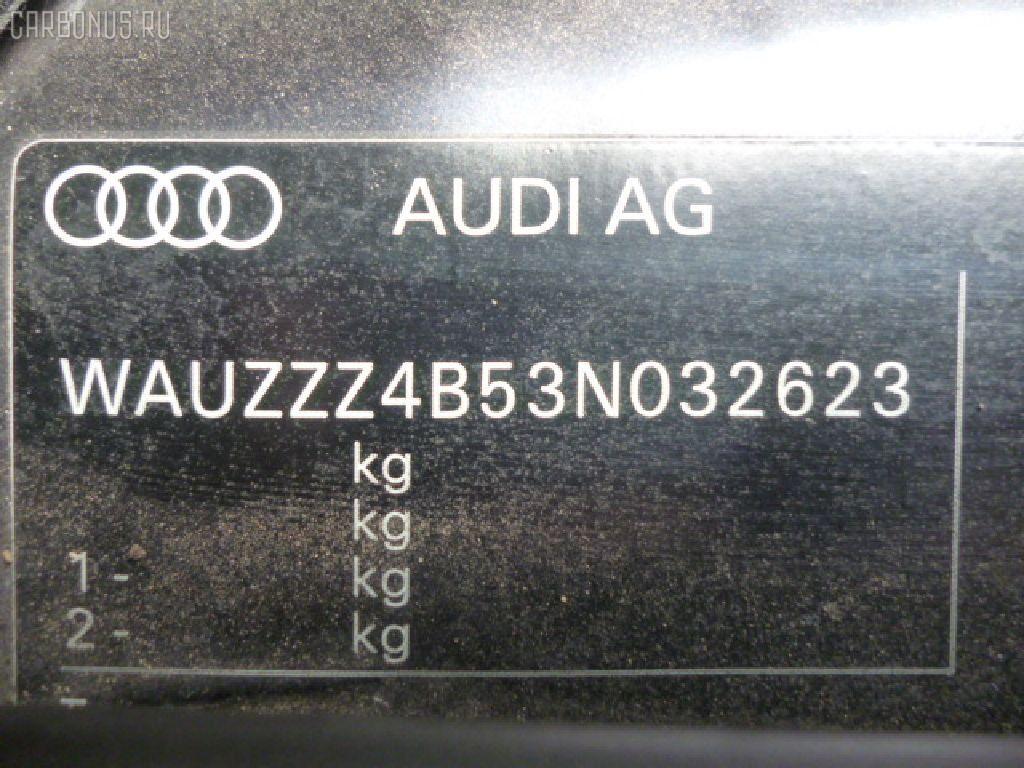 Защита антигравийная AUDI A6 4BBDV BDV Фото 2