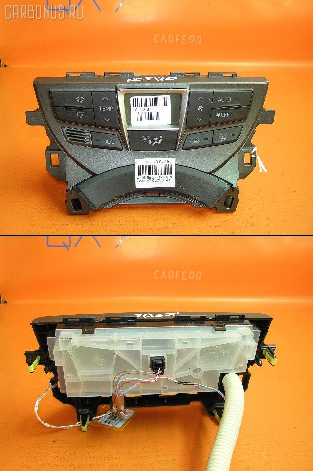 Блок управления климатконтроля Toyota Ractis NSP120 1NZ-FE Фото 1