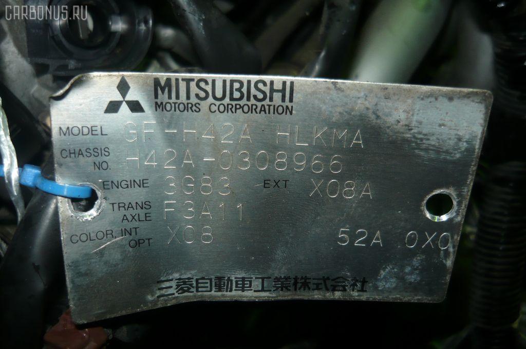 КПП автоматическая MITSUBISHI MINICA H42A 3G83 Фото 6