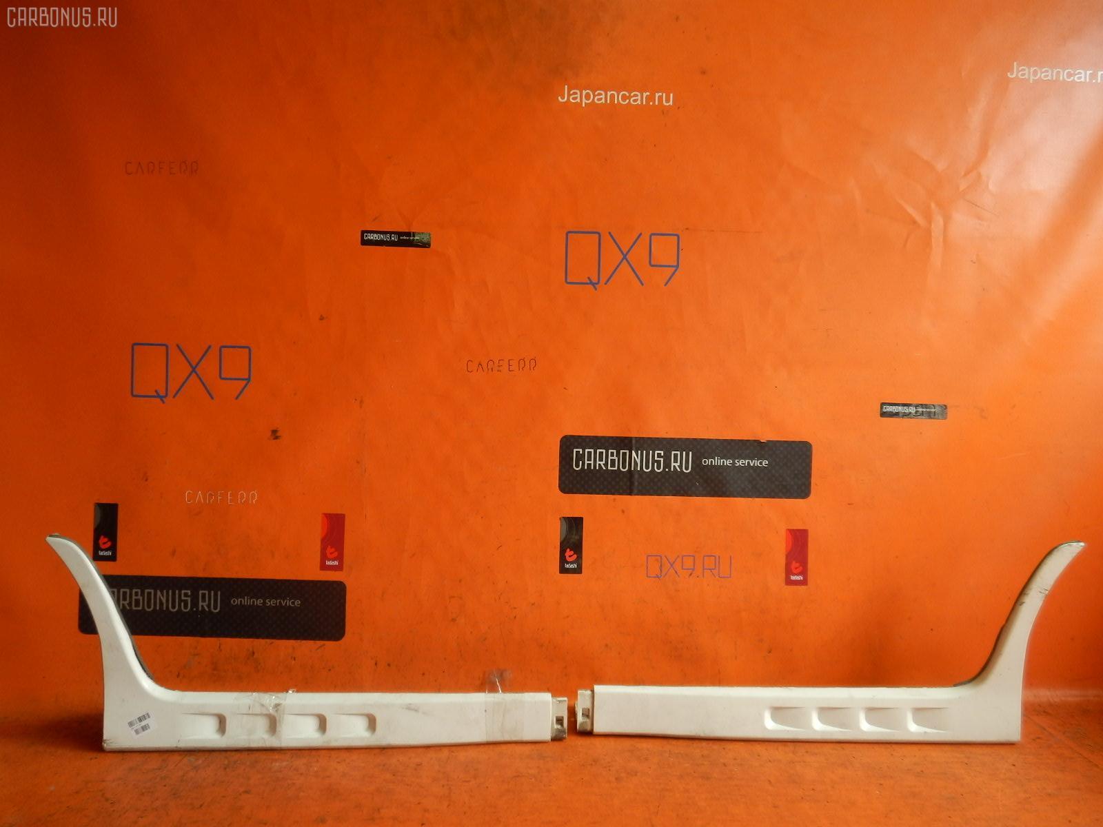 Порог кузова пластиковый ( обвес ) TOYOTA FUNCARGO NCP21. Фото 7