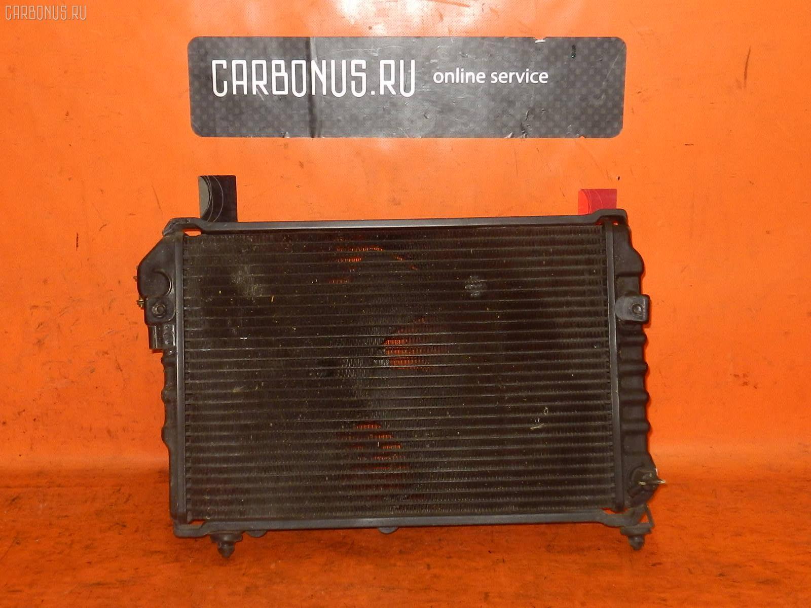 Радиатор ДВС SUBARU DOMINGO FA8 EF12. Фото 2