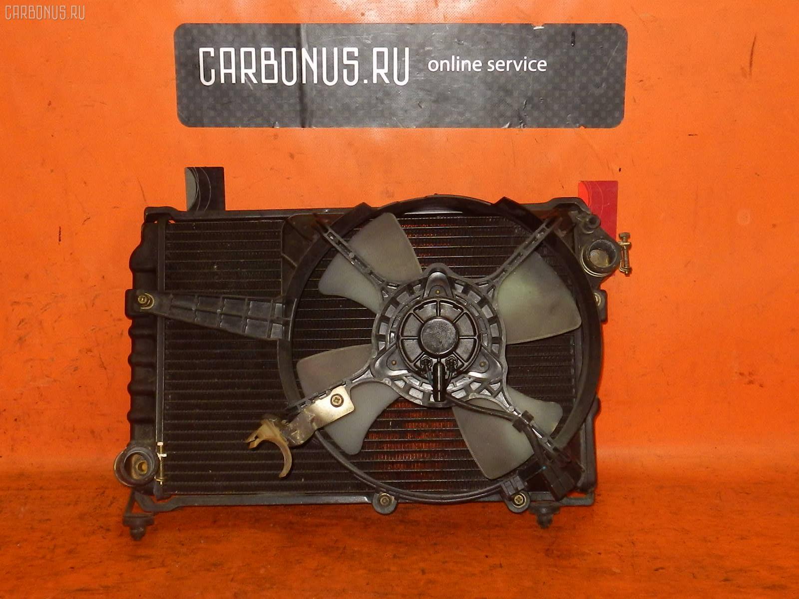 Радиатор ДВС SUBARU DOMINGO FA8 EF12. Фото 1