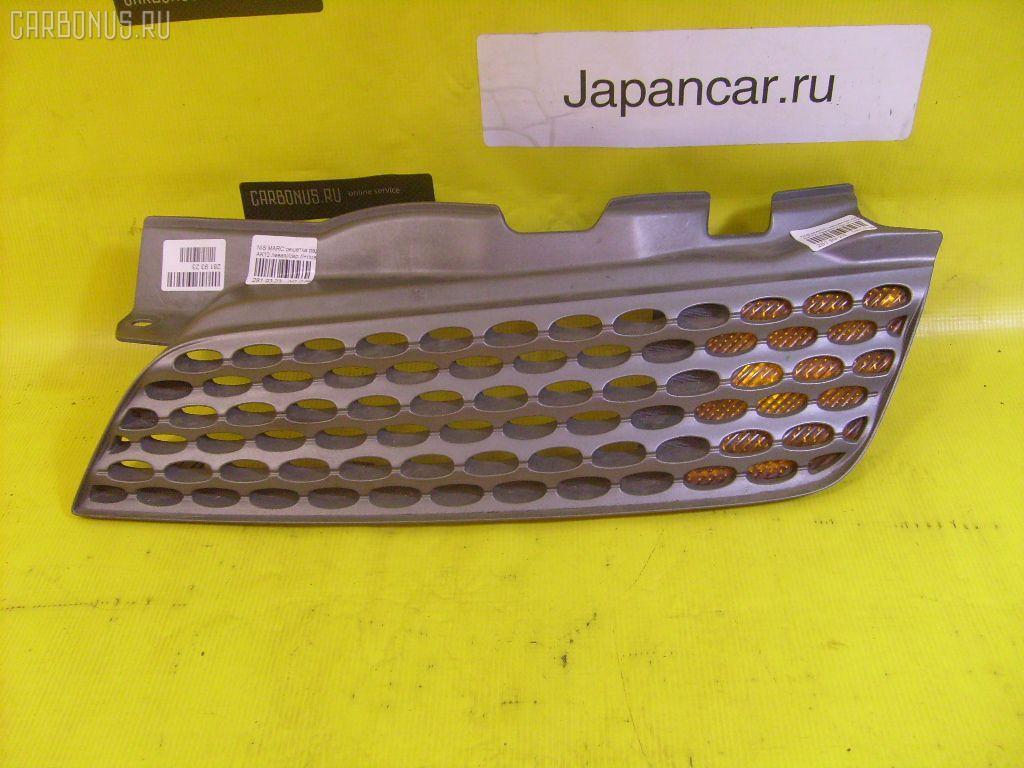 Решетка радиатора Nissan March AK12 Фото 1