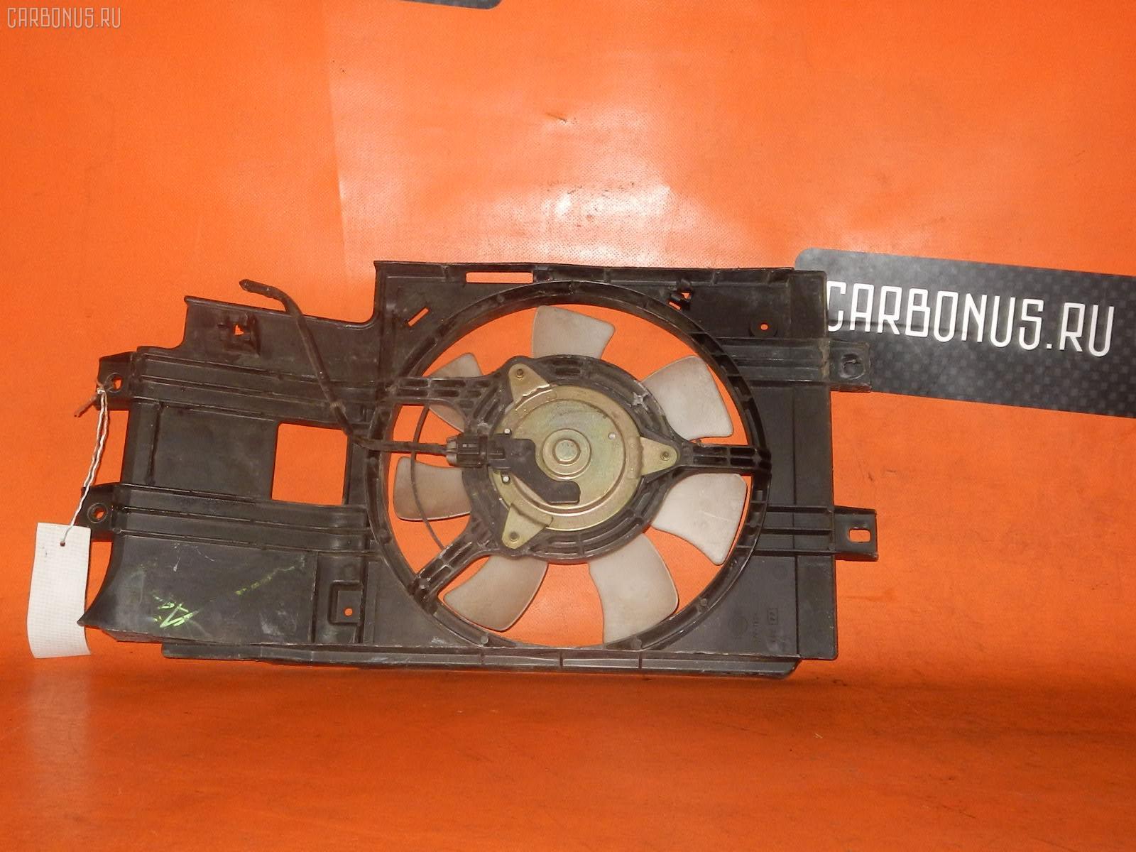 Вентилятор радиатора кондиционера NISSAN CUBE AZ10 CGA3DE. Фото 11
