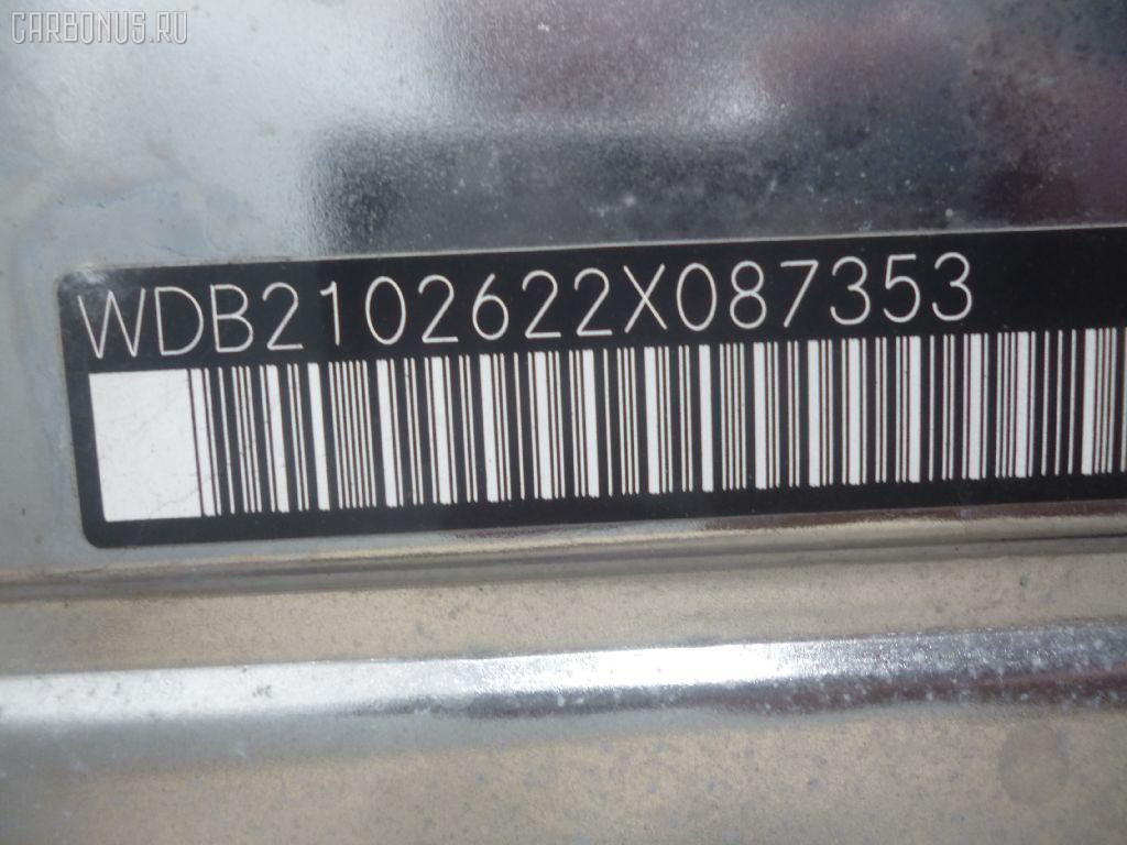 Защита двигателя MERCEDES-BENZ E-CLASS STATION WAGON S210.262 112.914 Фото 2