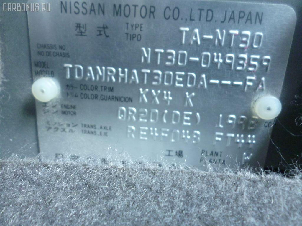 Телевизор NISSAN X-TRAIL NT30 QR20DE Фото 5