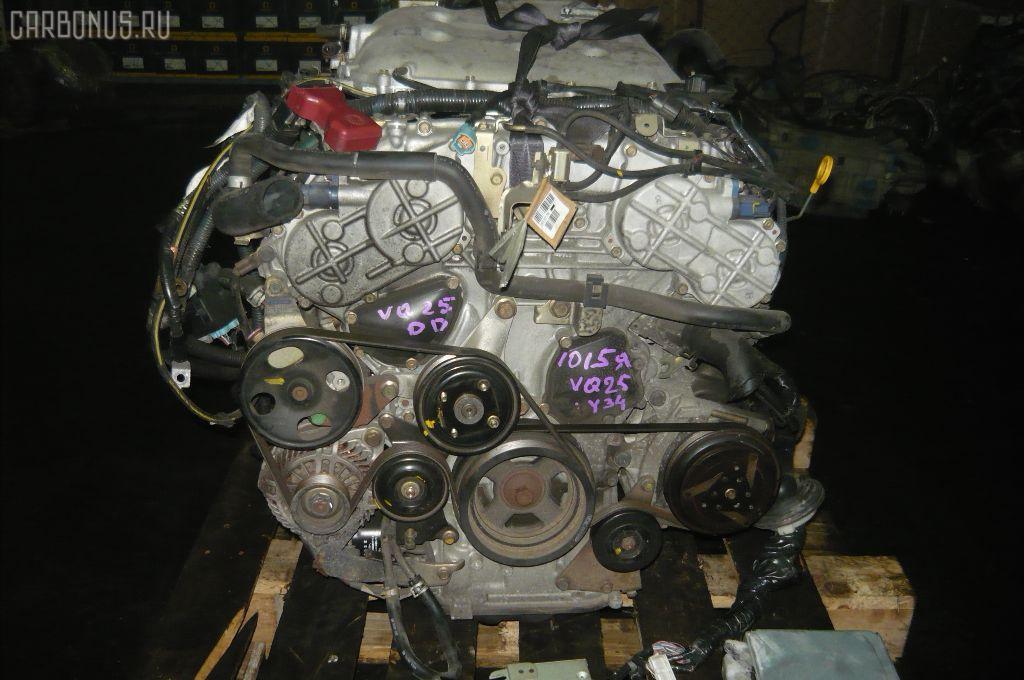 Двигатель NISSAN CEDRIC MY34 VQ25DD. Фото 4