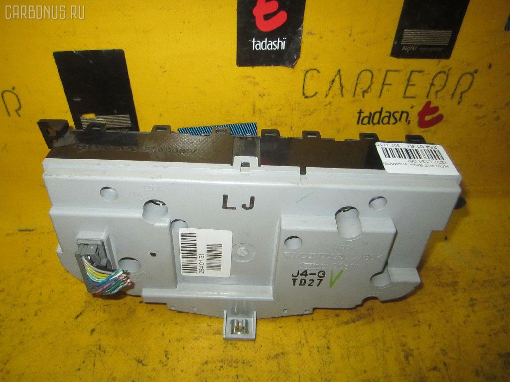 Блок управления климатконтроля HONDA FIT GD2 L13A. Фото 3