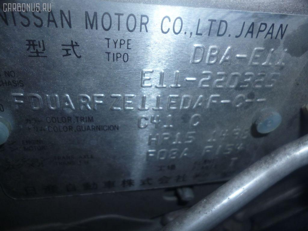 Тросик на коробку передач NISSAN NOTE E11 HR15DE Фото 2