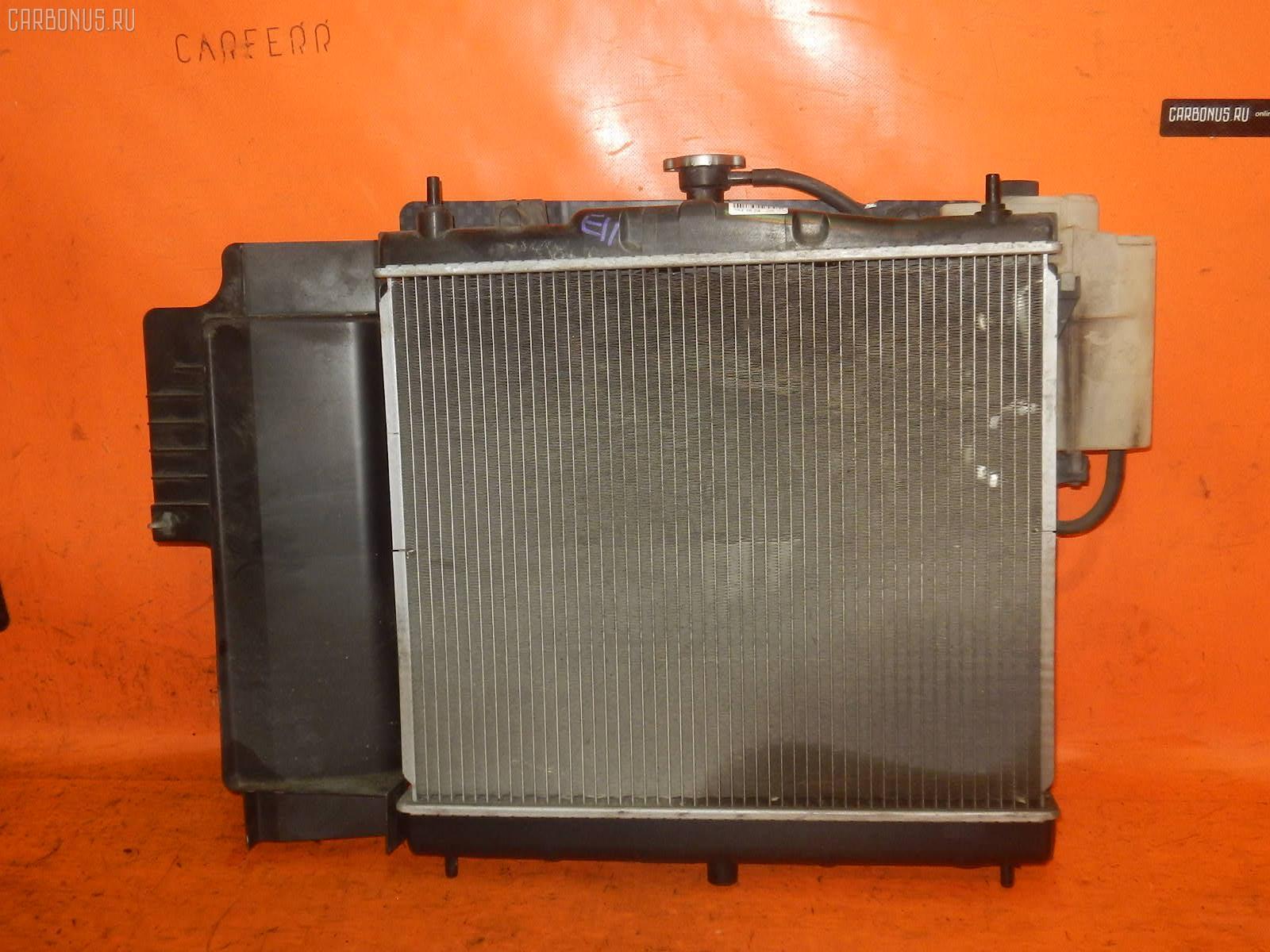 Радиатор ДВС NISSAN NOTE E11 HR15DE. Фото 4
