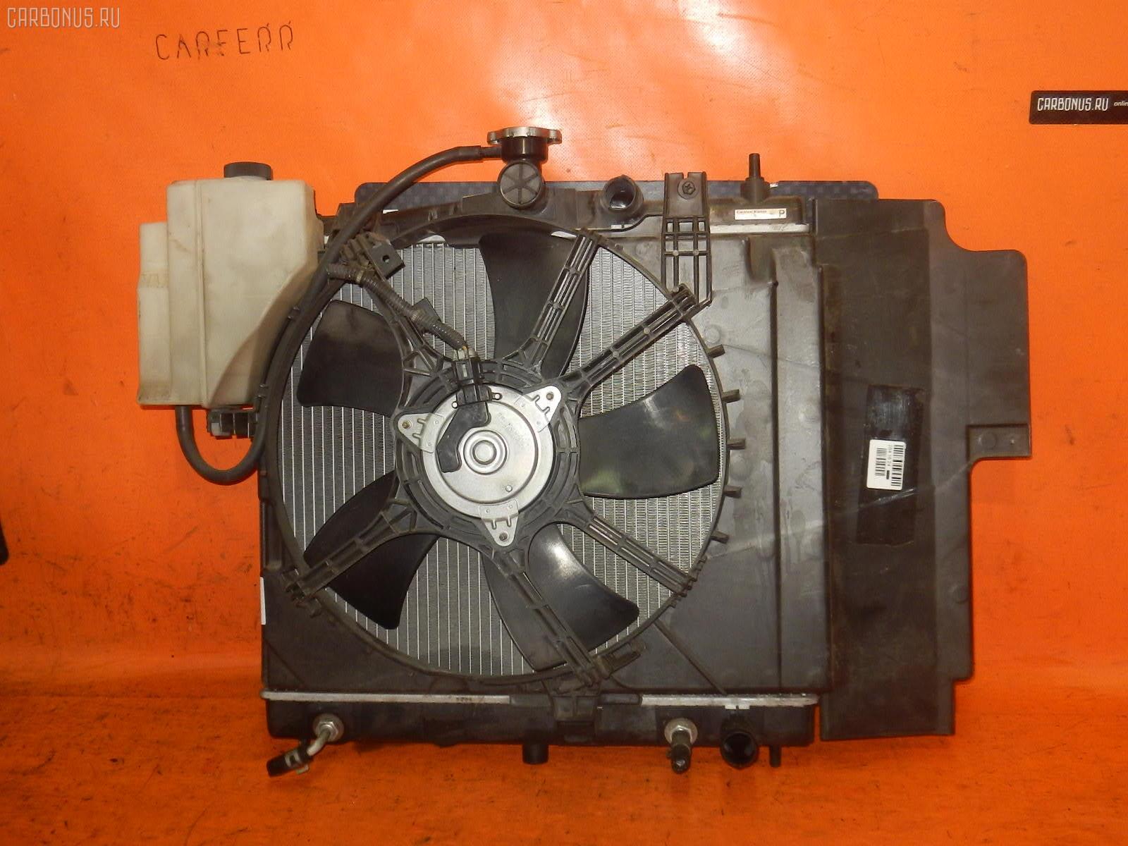 Радиатор ДВС NISSAN NOTE E11 HR15DE. Фото 3