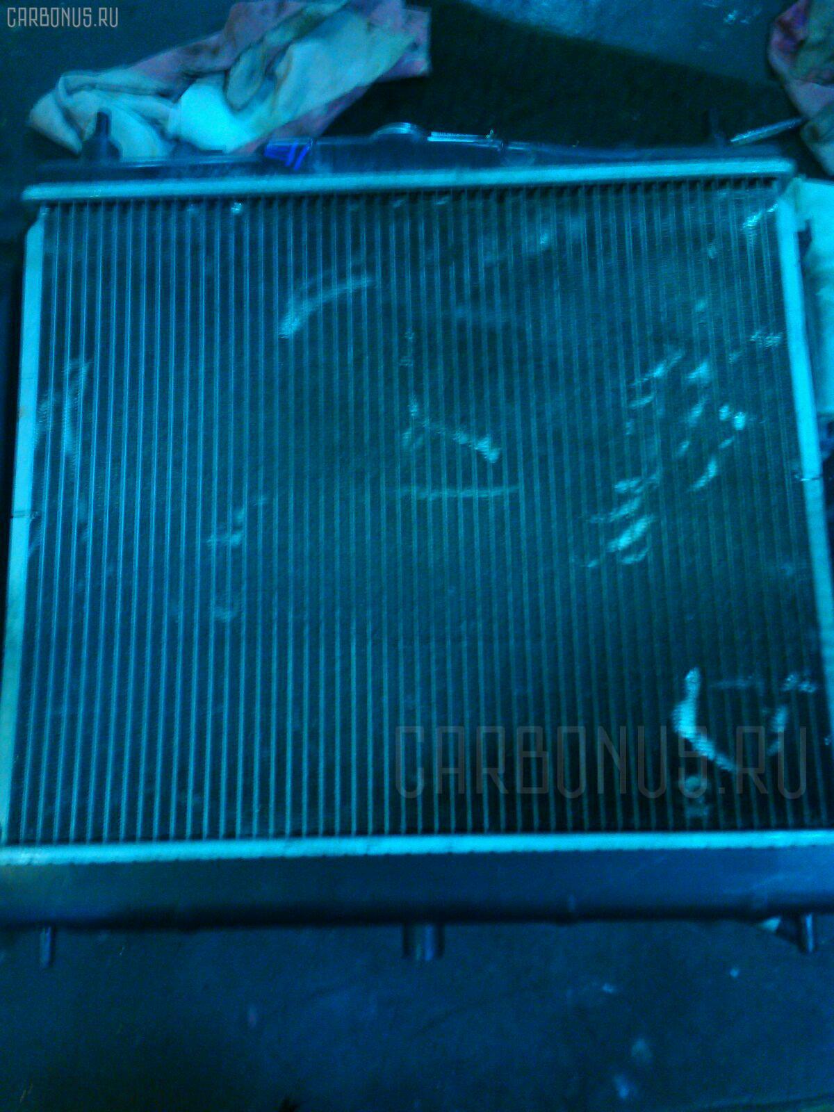 Радиатор ДВС NISSAN NOTE E11 HR15DE. Фото 1
