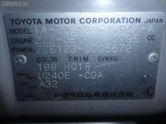 Обшивка багажника TOYOTA COROLLA RUNX ZZE123 Фото 2