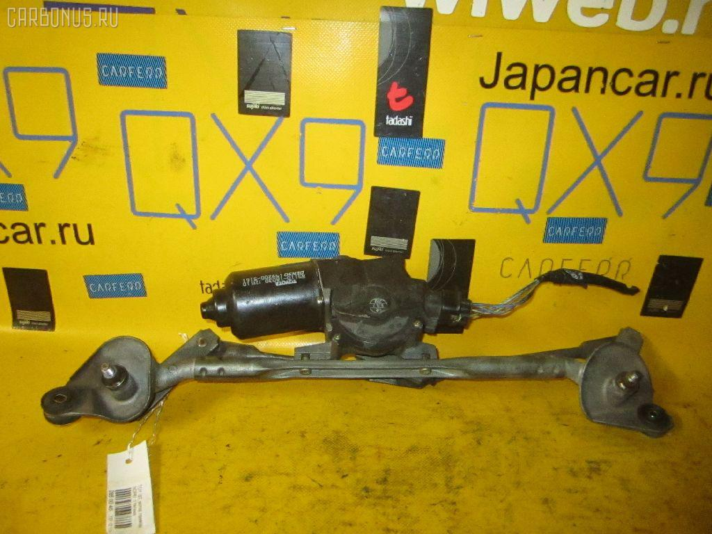 Мотор привода дворников TOYOTA IST NCP61 Фото 1