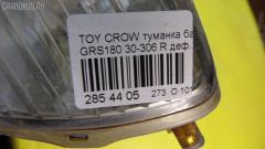 Туманка бамперная Toyota Crown GRS180 Фото 3