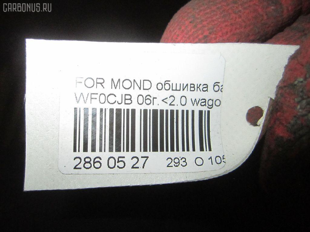 Обшивка багажника FORD MONDEO III WF0CJB Фото 9