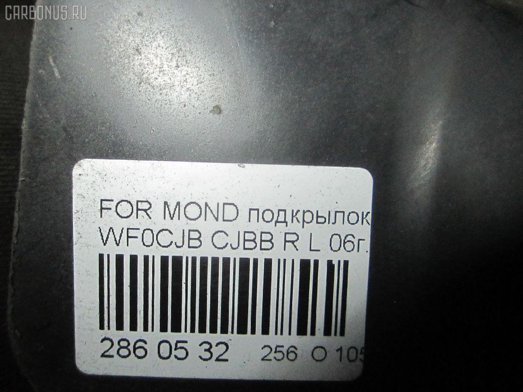 Подкрылок FORD MONDEO III WF0CJB CJBB Фото 9