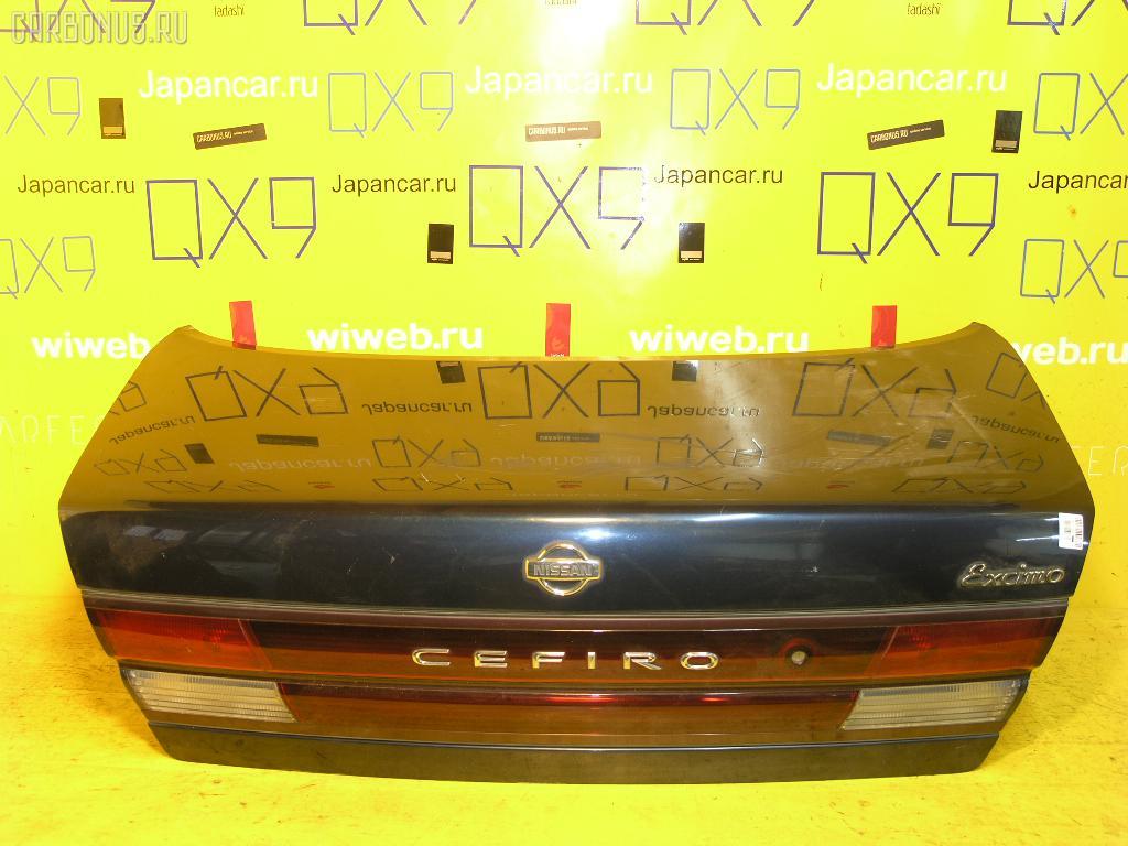 Крышка багажника NISSAN CEFIRO A32. Фото 4