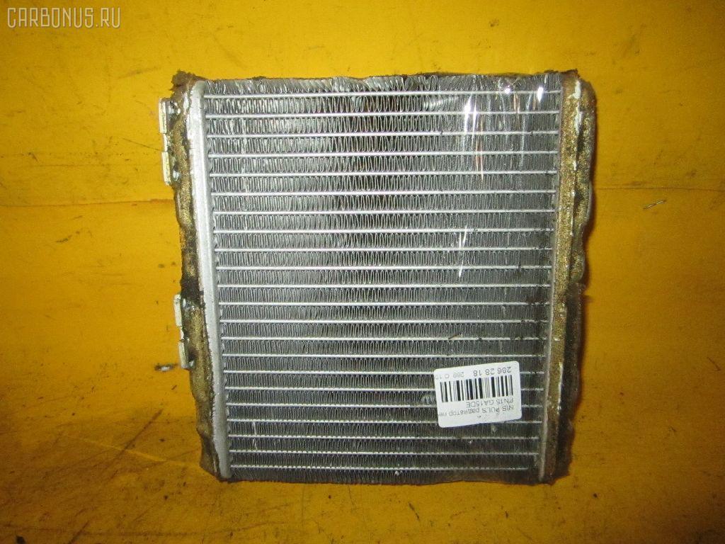 Радиатор печки NISSAN PULSAR FN15 GA15DE. Фото 3