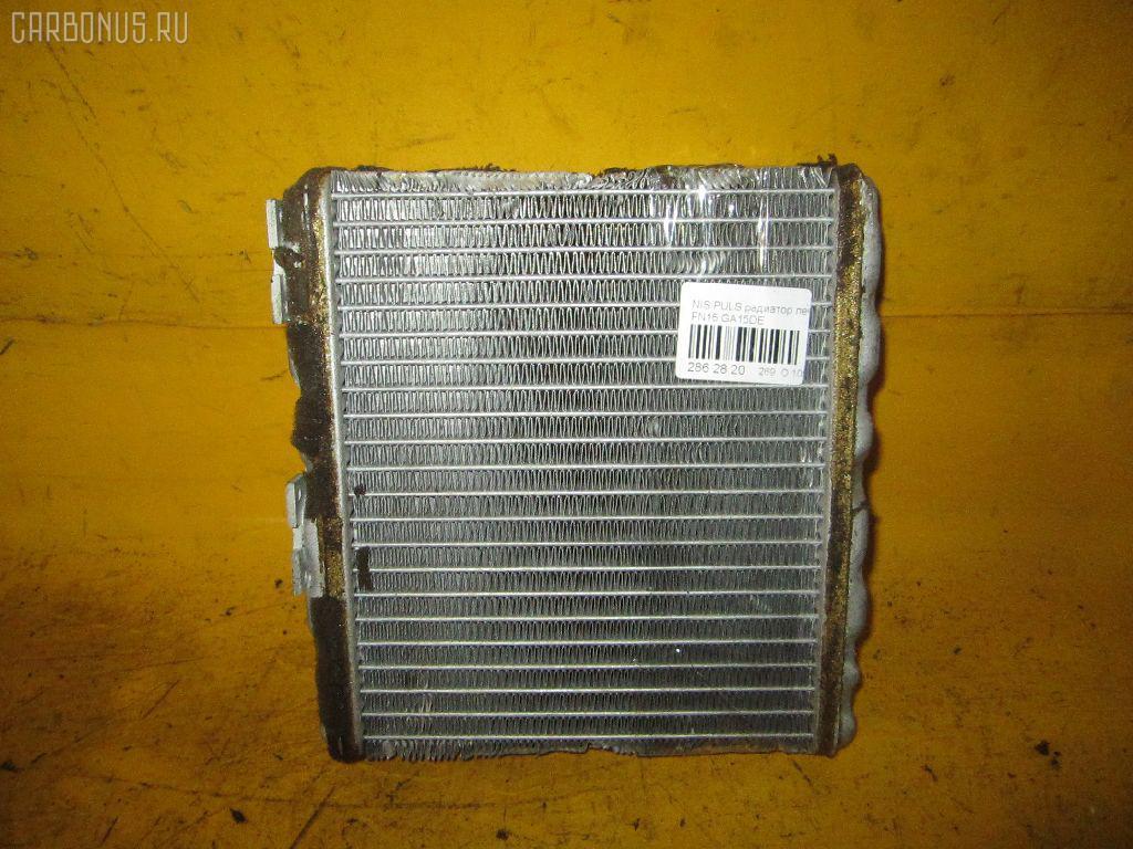 Радиатор печки NISSAN PULSAR FN15 GA15DE. Фото 4