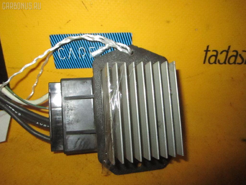 Регулятор скорости мотора отопителя TOYOTA COROLLA FIELDER ZZE123G. Фото 6