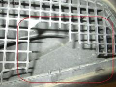 Воздухозаборник MERCEDES-BENZ S-CLASS W220.175 113.960 Фото 1