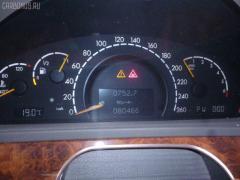 Дефлектор Mercedes-benz S-class W220.175 Фото 7