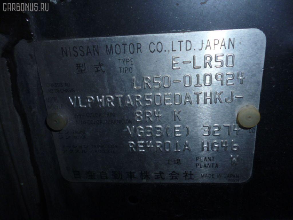 Дефлектор NISSAN TERRANO LR50 Фото 3