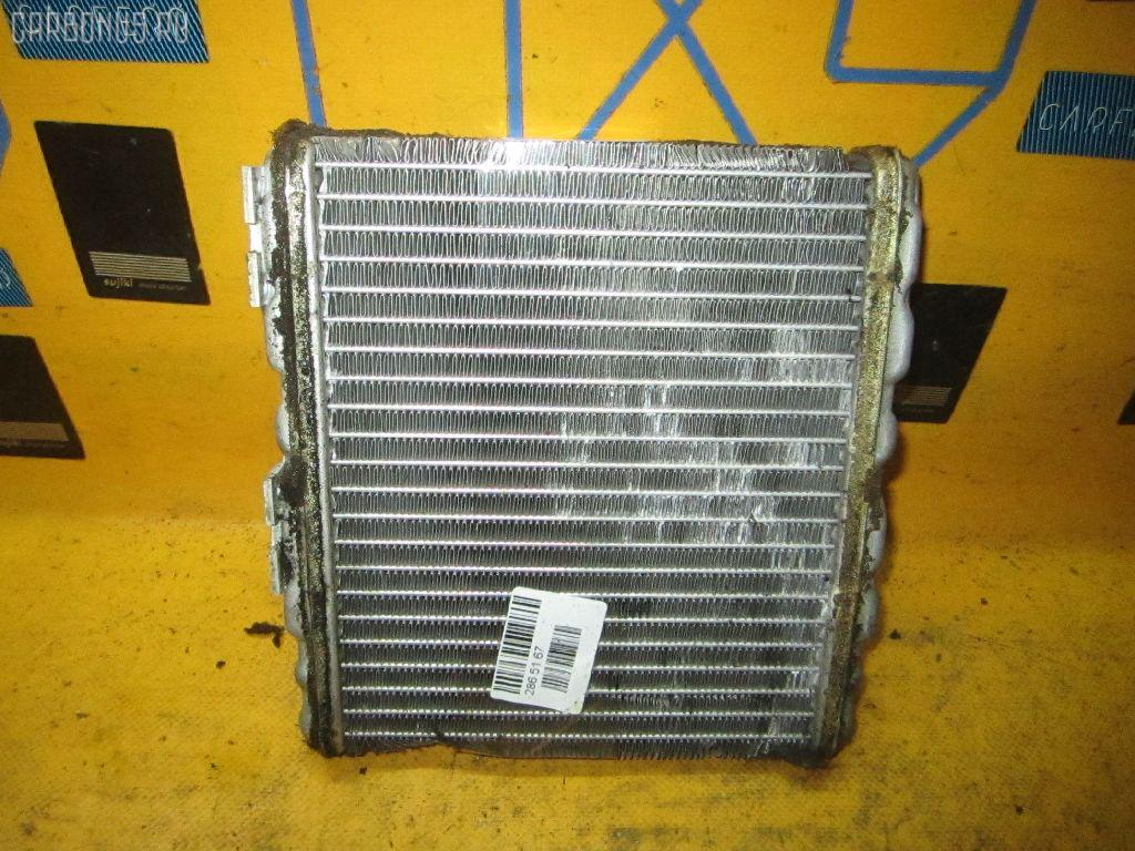 Радиатор печки NISSAN SUNNY FB14 GA15DE. Фото 4