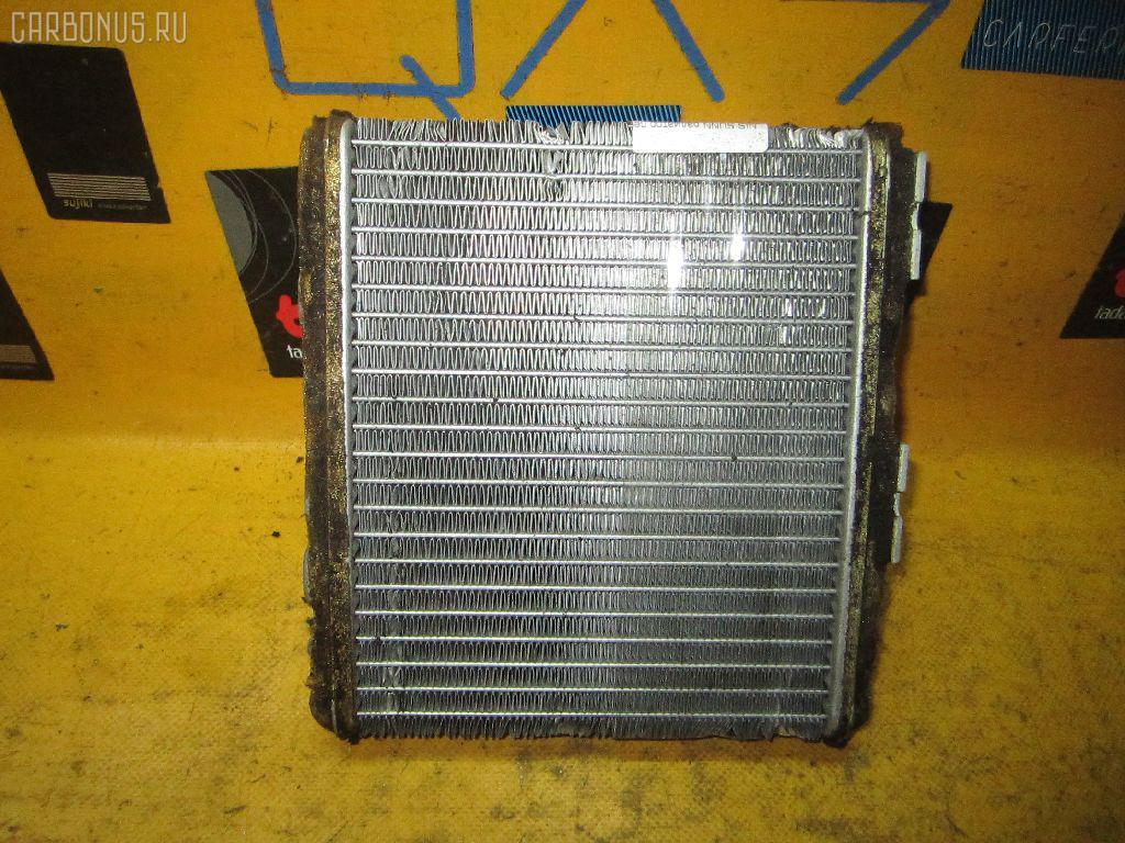 Радиатор печки NISSAN SUNNY FB14 GA15DE. Фото 6
