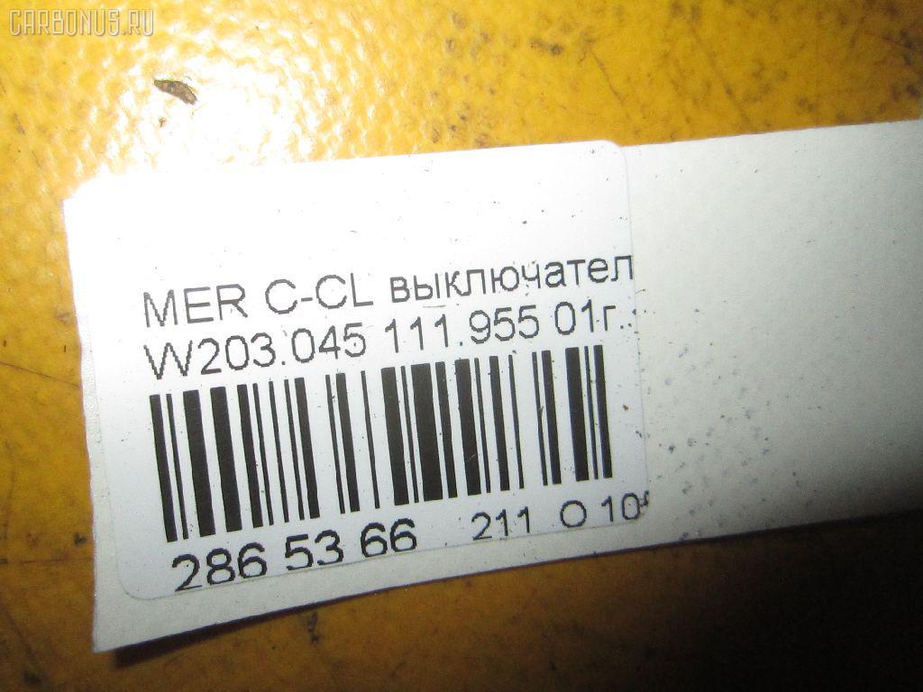 Выключатель концевой MERCEDES-BENZ C-CLASS W203.045 Фото 2